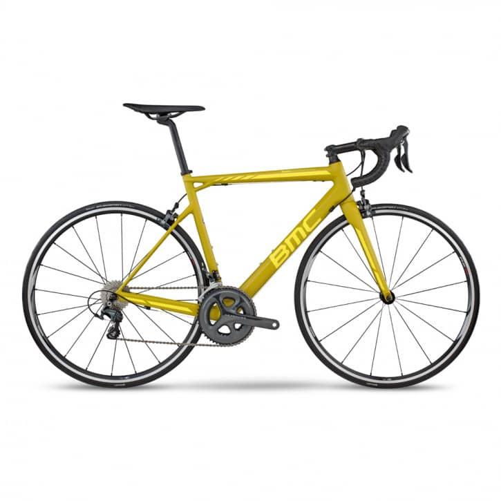 BMC Teammachine SLR02 Ultegra Yellow 2017 RH 60 cm