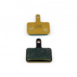 NOW8 E-Bike gold, SHIMANO Deore kompatibel, disc brake pads, CC3Xplus