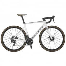 Scott Addict RC 10 Bike Pearl White 2021