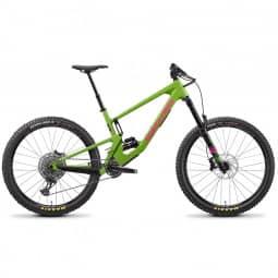 Santa Cruz Nomad 5 C/S adder green/magenta 2021