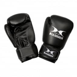 HAMMER BOXING Boxhandschuhe Fit schwarz 6 OZ