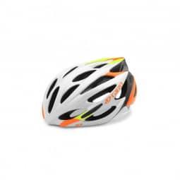 Giro Helm Monza white/lime/flame L