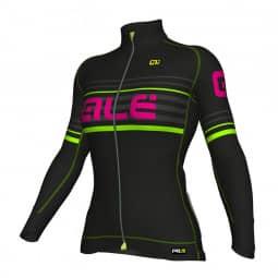 ALE PRR 2.0 Curva Veloce Jersey black-green-magenta  XL