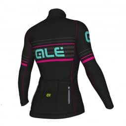 ALE PRR 2.0 Curva Veloce Jersey black-magenta-türkis XL