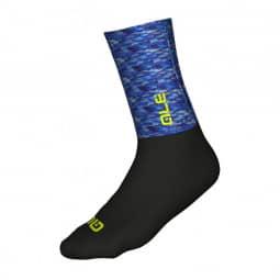 ALE Merino Logo Socken blue-black S