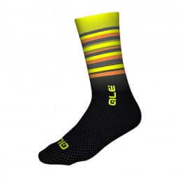 ALE Merino Stripe Socken yellow-black