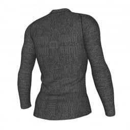 ALE Seamless Wool Man Underwear grau S-M