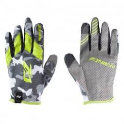 Zanier Gloves SHREDDER unisex camo lime L