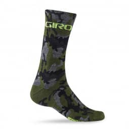 Giro MerinoSeasSocks camo/hlght ylw M
