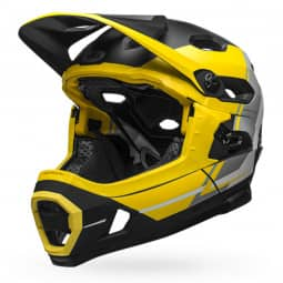 Bell SUPER DH Mips yellow/sil/black L