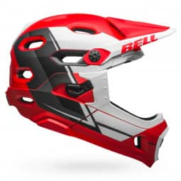 Bell SUPER DH Mips red/white/black L