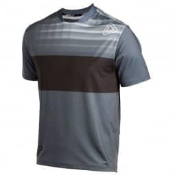 Leatt DBX 1.0 Jersey Short Sleeve black/granite L