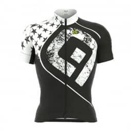 ALE Graphics PRR Star Jersey Radtrikot schwarz weiß S
