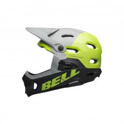 Bell Super DH Mips dark grey/black/green-S