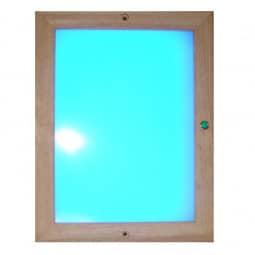 Infrarot Farblichtpaneel LED 24x31 cm mit Fernbedienung