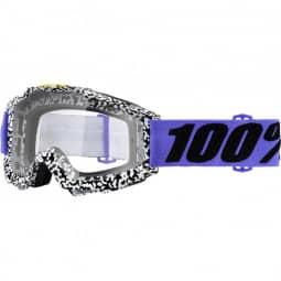 100% Accuri goggle anti fog clear lens brentwood