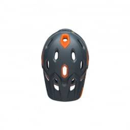 Bell Super DH Mips grau/orange-S