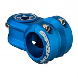 Spank Spoon 2.0 Stem, 31.8mm inkl. Topcoat blau