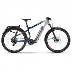 Haibike XDURO Adventr 5.0 i630Wh 11-G NX HB Flyon weiß/blau/orange 2020 RH-S