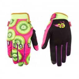 Fist Handschuhe Kiwi,rosa-schwarz S