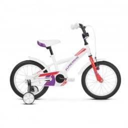 """Kross Mini 3.0 white-red-violet 16"""" 2019"""