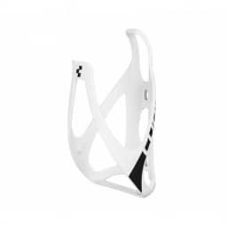 Cube Flaschenhalter HPP MATT WHITE/BLA
