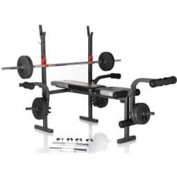 Hammer Hantelbank Bermuda inkl. 25 kg Gewichte