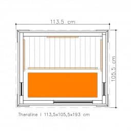 Infrarotkabine Zanier Theraline 1 - Ausstellungsgerät