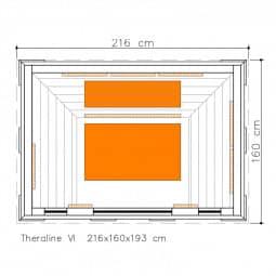 Infrarotkabine Zanier Theraline 6