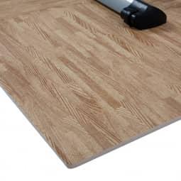 Finnlo Bodenschutzmatte Puzzlematte Holzoptik