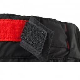 Cube Blackline Regenhose kurz black'n'red S