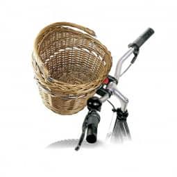 Klick Fix Fahrradkorb Weidenkorb vorne