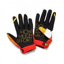 100% Ridefit Glove red/yellow XL
