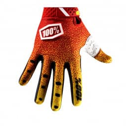 100% Ridefit Glove red/yellow XL