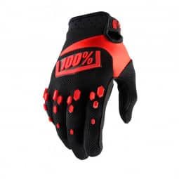100% Airmatic Glove black/red XL