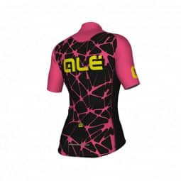 ALE Cracle Lady Jersey schwarz/pink