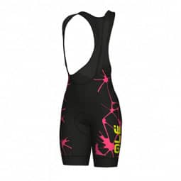 ALE Cracle Lady Bibshorts schwarz/pink S