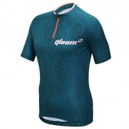 Qloom Osprey Bay Jersey SS Petrol Blue