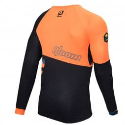 Qloom Avalon Enduro Jersey LS Golden Orange S