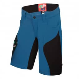 Qloom Seal Rock Shorts with Petrol Blue Innershorts XL