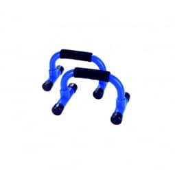 Tunturi Liegestützgriffe blau/schwarz