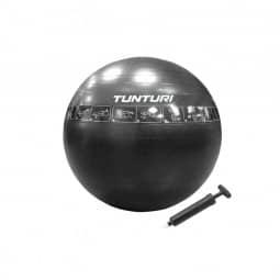 Tunturi Gymnastikball schwarz - 65 cm - reißfest