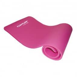 Tunturi Fitnessmatte mit Tasche pink