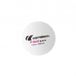 Cornilleau Tischtennisbälle ITTF weiß 3 Stück