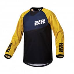 IXS Pivot 6.1 DH Jersey yellow/blue/black L