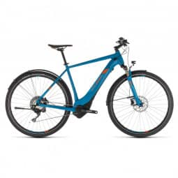 Cube Cross Hybrid Race 500 Allroad blue´n´orange 2019 RH 62 cm