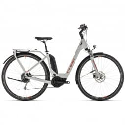 Cube Touring Hybrid 500 grey´n´orange 2019 Easy Entry RH 54 cm
