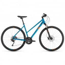Cube Cross Pro blue´n´orange 2019 Trapez RH 54 cm