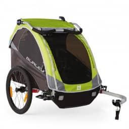 Burley Solo Fahrrad-Kinder-Anhänger Modell D'Lite grün