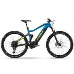 Haibike SDURO FullSeven 9.0 i500Wh 12-G NX HB BCXP schwarz/blau/gelb 2019 RH-XL